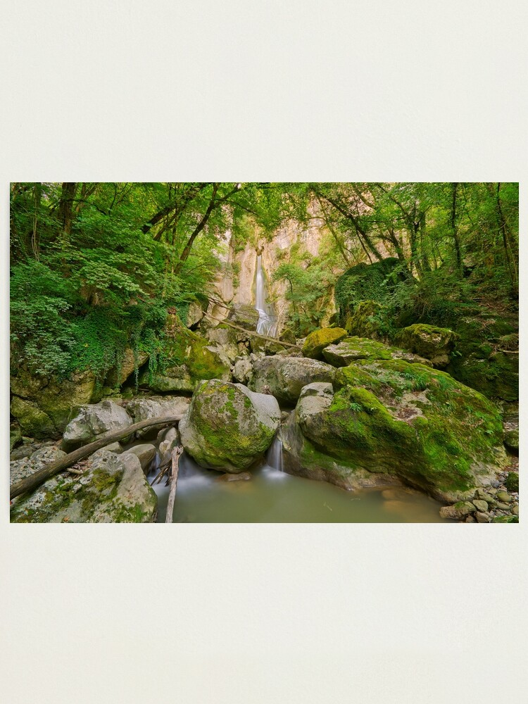 Alternate view of Going to Barbennaz waterfall Photographic Print
