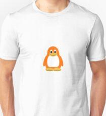 Orange Penguin Unisex T-Shirt