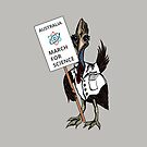March for Science Australia – Cassowary, full color by sciencemarchau