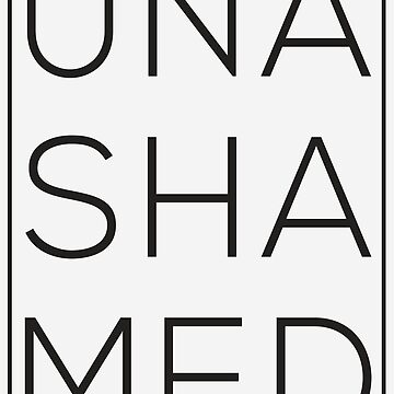 Unashamed, Faith out loud. by mikedm