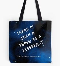 There is such a thing as a tesseract Tote Bag
