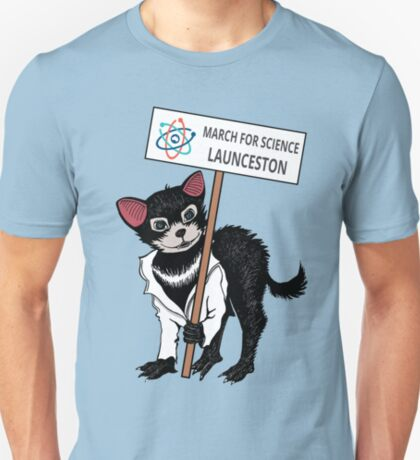 March for Science Launceston – Tassie Devil, full color T-Shirt