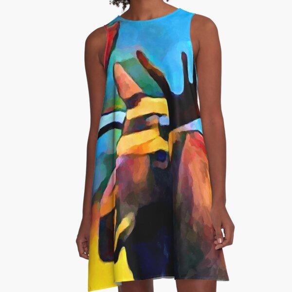 Moose A-Line Dress