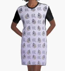 chinese year of the dragon - 2024 Graphic T-Shirt Dress