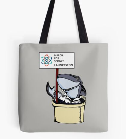 March for Science Launceston – Shark, full color Tote Bag