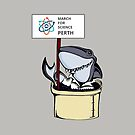 March for Science Perth – Shark, full color by sciencemarchau