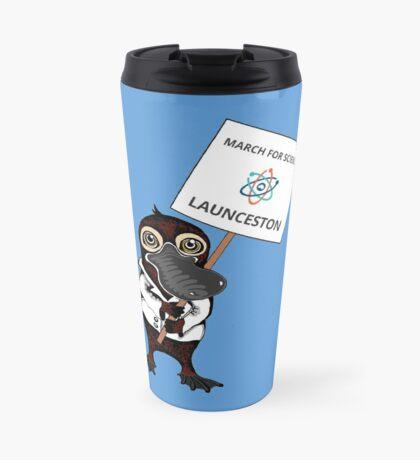 March for Science Launceston – Platypus, full color Travel Mug