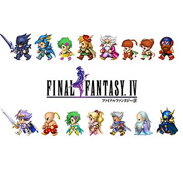 FFIV crystal legend by VAP0RWEAR