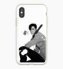 Nicolas- Gangsta. iPhone Case