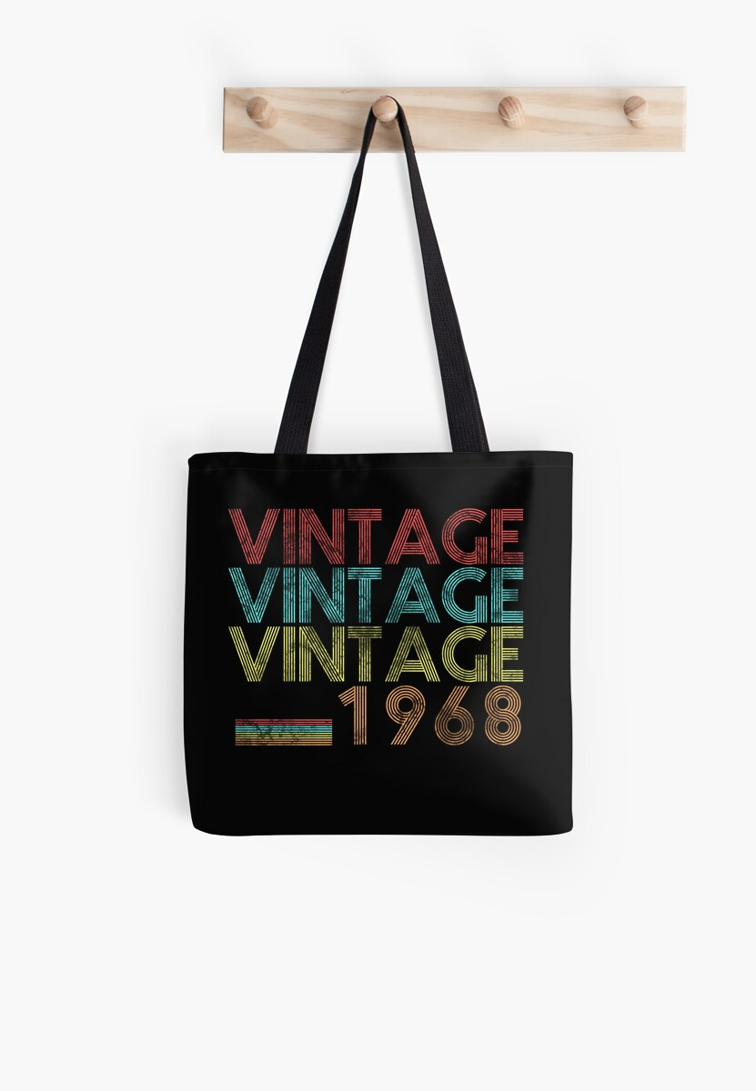 Vintage 1968 50 Years Old 50th Birthday 60s Gift T Shirt By Plistshirts