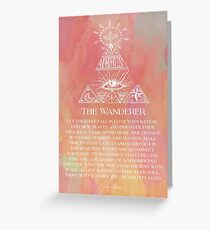 The Wanderer Greeting Card