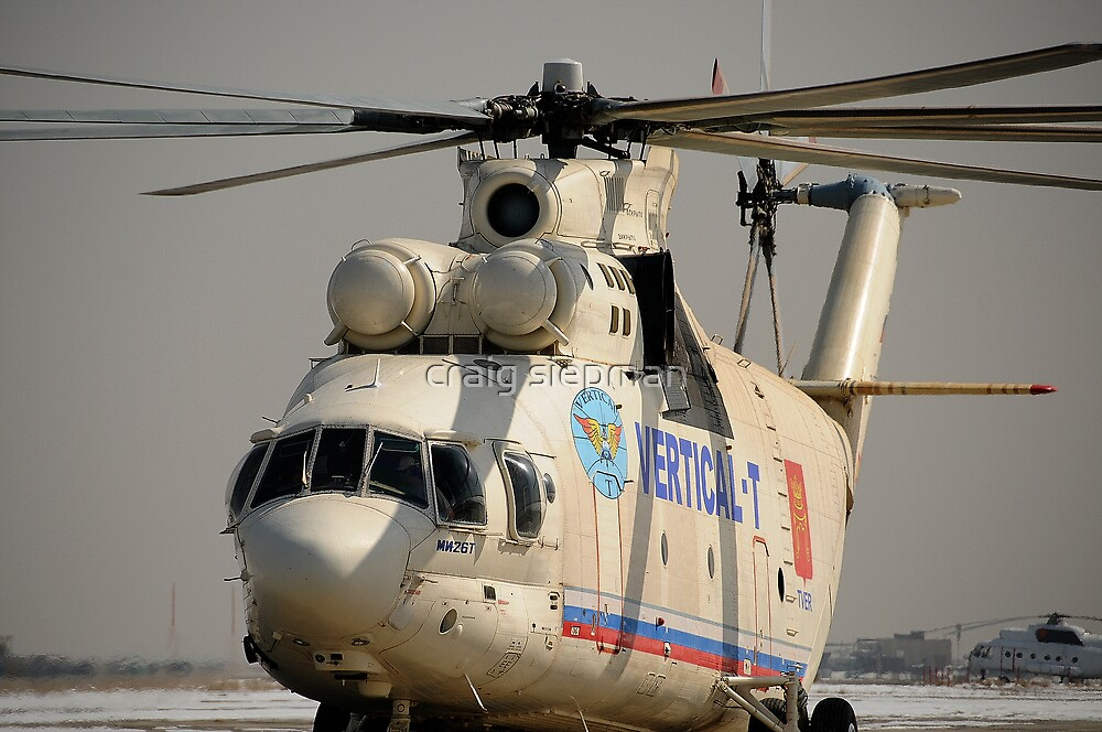 MI-26 Monster Helicopter by craig siepman