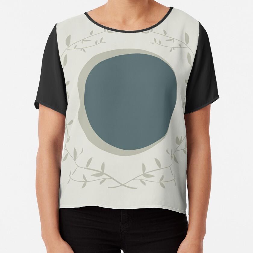 Moon Chiffon Top