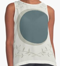 Moon Sleeveless Top
