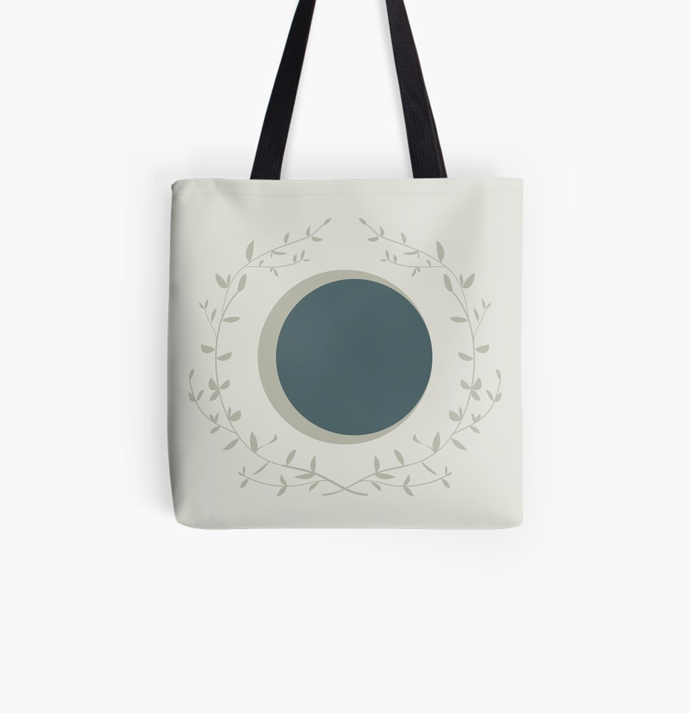 Moon All Over Print Tote Bag