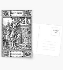 Grimm' Fairy Tale Rapunzel Postcards