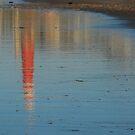 Temporary beach art at Scheveningen by jchanders