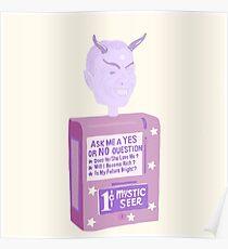 The Twilight Zone Fortune Teller Poster
