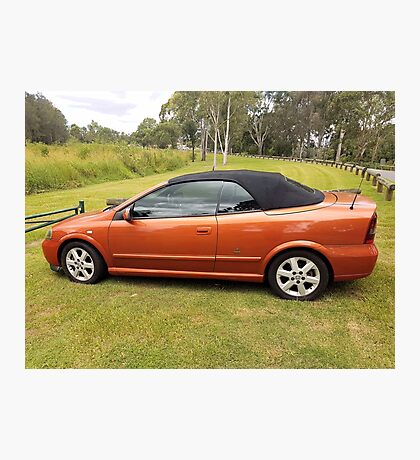 2004 Holden Astra Convertible (BENTONE EDITION)  Photographic Print