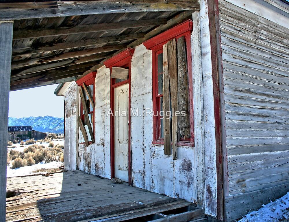 Bell House - Cherry Creek, NV by Arla M. Ruggles