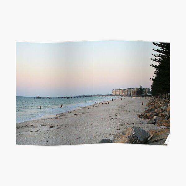 Dusk at the Bay, South Australia. Poster