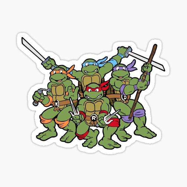 Classic Turtles Sticker