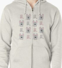 2020 - chinese year of the rat Zipped Hoodie