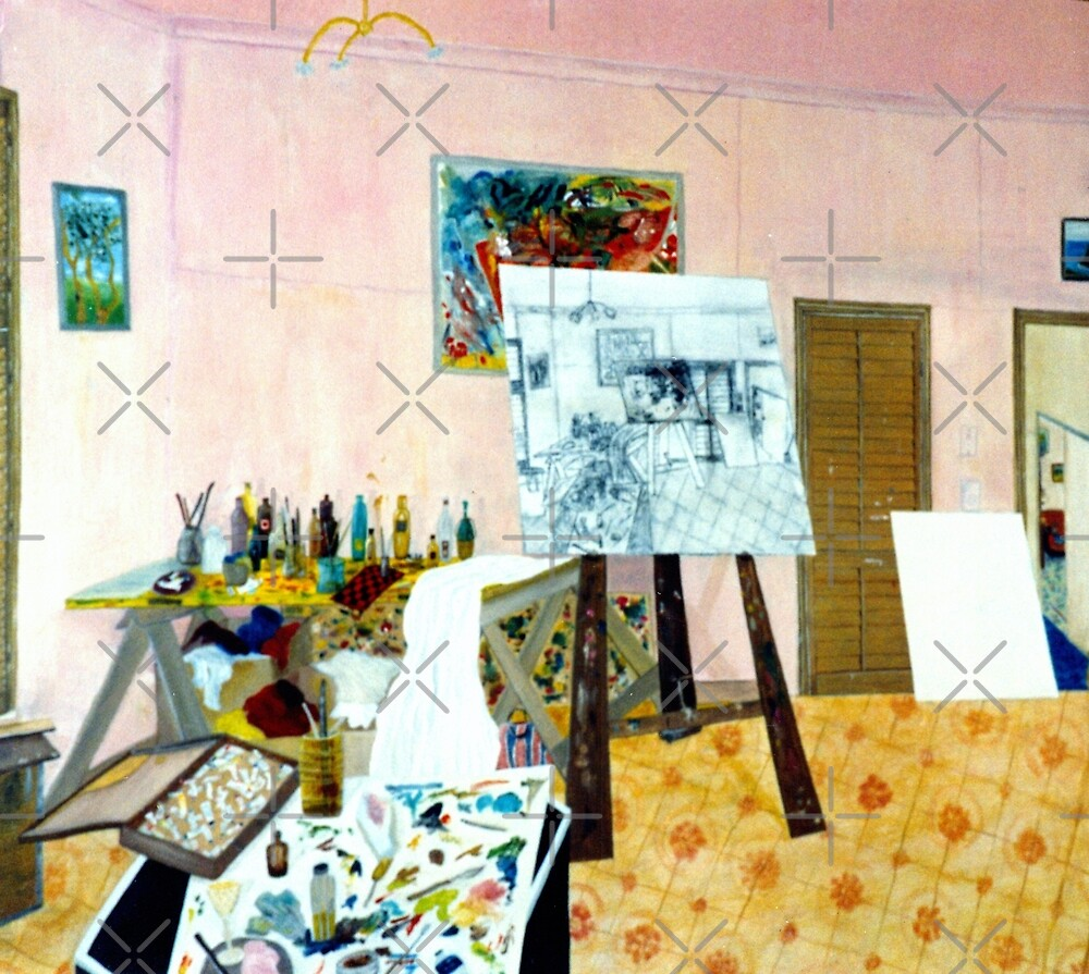 Tribute to Peter - The Art Room by C J Lewis
