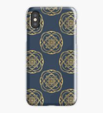 Nights in Blue and Gold iPhone Case/Skin