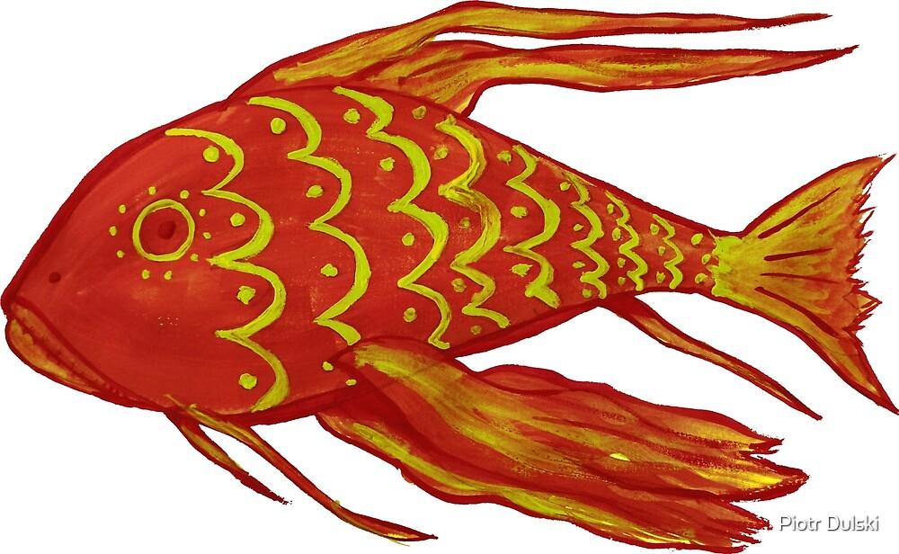 Fish Red by Piotr Dulski