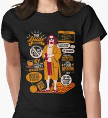 """The Dude"" ABIDE Women's Fitted T-Shirt"