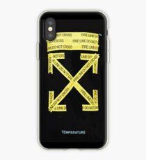 """""""Temperature"""" Off white iPhone Case"""