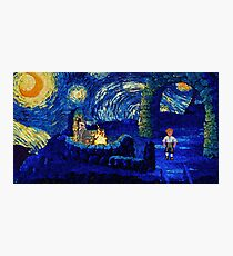 Melee Starry Night Photographic Print
