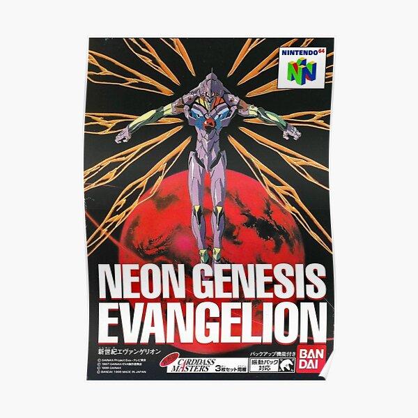 EVANGELION N64 Poster