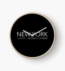 Reloj Nueva York