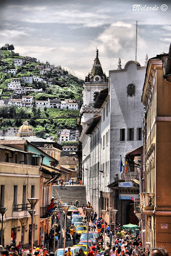 Old Quito by Bernai Velarde PCE 3309
