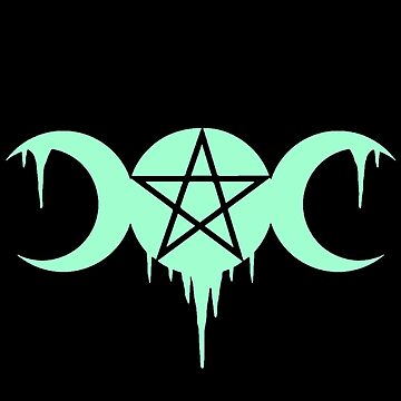WICCA, WITCHCRAFT, TRIPLE MOON by ShirtWreck