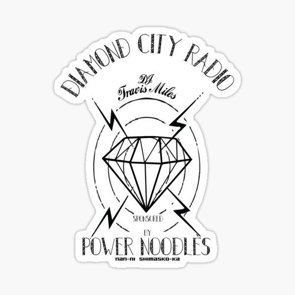 Diamond City Radio Stickers Redbubble