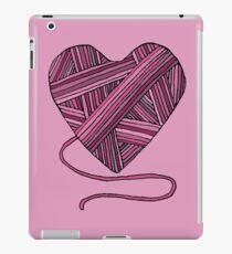 Yarn Heart iPad Case/Skin