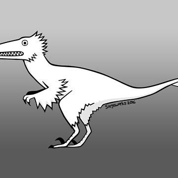 Cartoon Velociraptor by siege103
