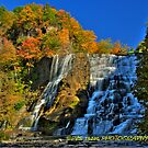 Autumn at Ithaca falls HDR by PJS15204