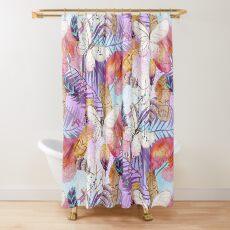 Boho Tiki Life  Shower Curtain