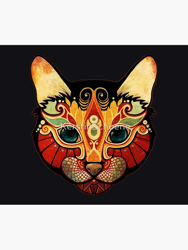 the cat von KerstinSchoene
