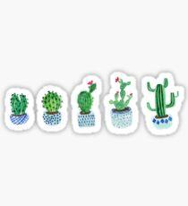 Kaktus im Aquarell Sticker