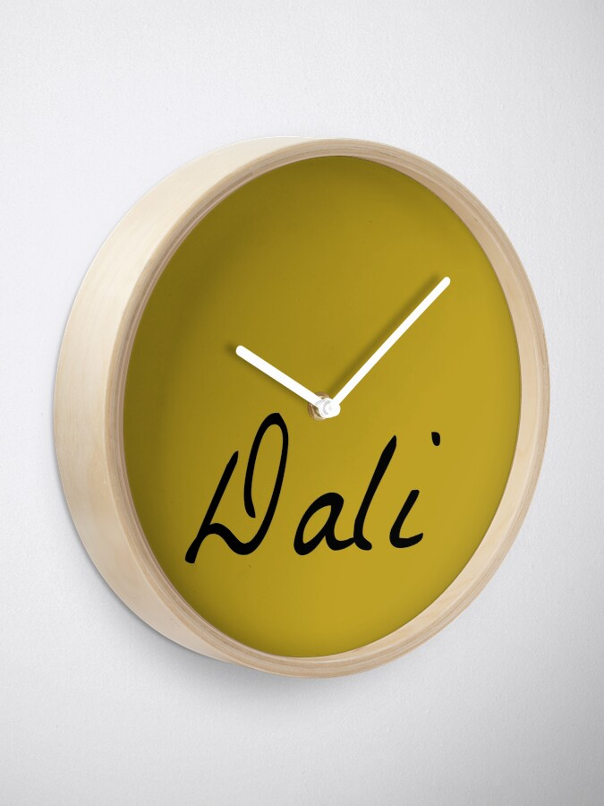 Alternate view of Dali Clock