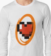 Portal Lover ! Orange Long Sleeve T-Shirt