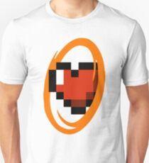Portal Lover ! Orange Unisex T-Shirt