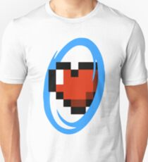 Portal Lover ! Blue Unisex T-Shirt