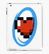 Portal Lover ! Blue iPad Case/Skin