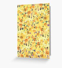 Daffodil Fields Greeting Card